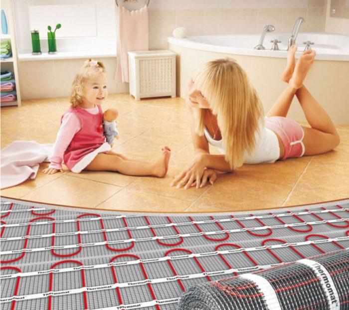Теплый пол — как забота о домашнем уюте