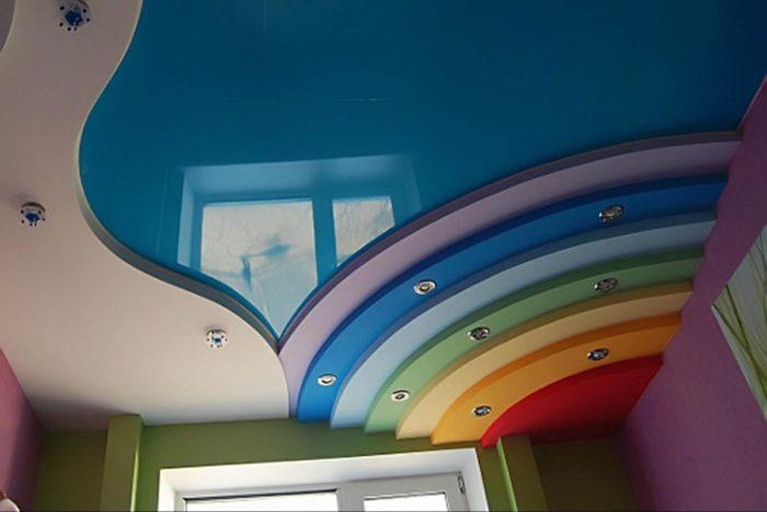 Натяжные потолки стоимость за 1м2 с установкой