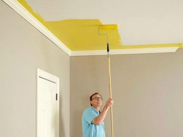 Узнайте как покрасить потолок раз и навсегда