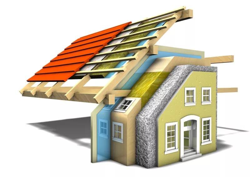 Какие материалы для строительства частного дома использовать достоинства и не достатки