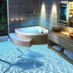 Как выбрать пол для ванной комнаты в доме, квартире