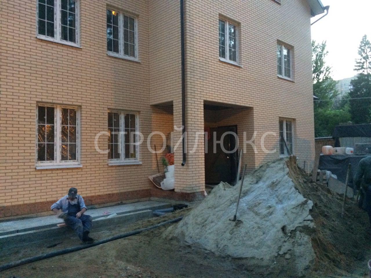 Полусухая стяжка пола в Люберецком районе фото работ