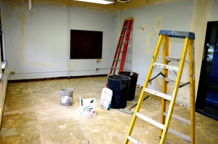 ремонт внутренних помещений