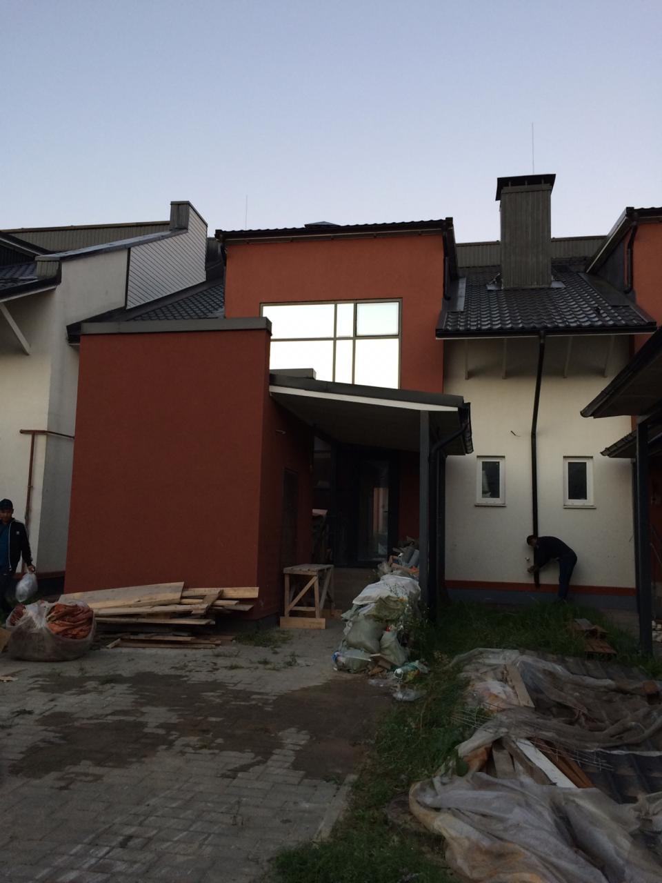 Полусухая стяжка пола в дачном посёлке Кратово