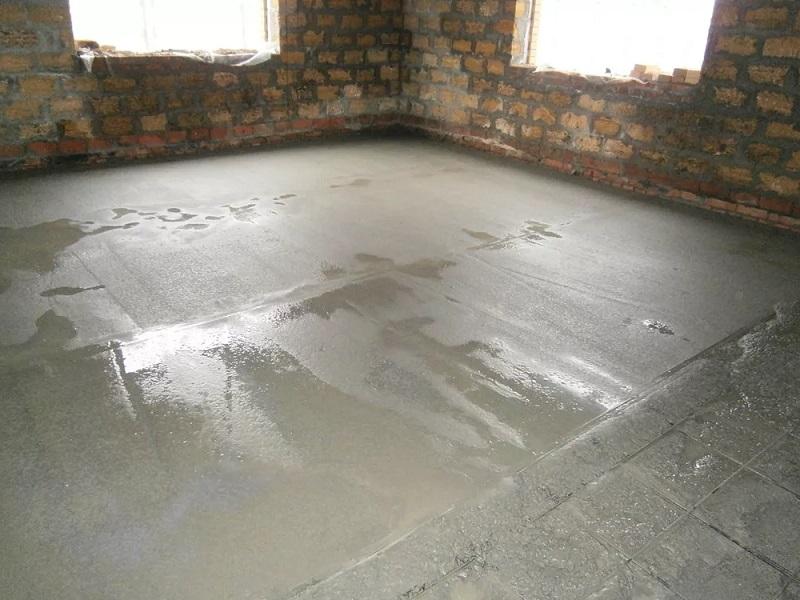 Особенности обустройства бетонной стяжки пола